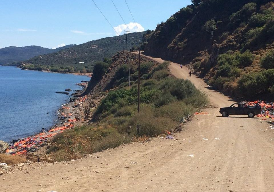 Guest Post: I didn't go to lesvos to help the refugees ..